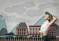 Νέος και ελεύθερος Στοκ Φωτογραφίες