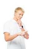 Νέος και όμορφος έφηβος Στοκ εικόνα με δικαίωμα ελεύθερης χρήσης