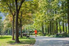 Νέος κεντρικός κήπος Hongqiao Στοκ φωτογραφία με δικαίωμα ελεύθερης χρήσης