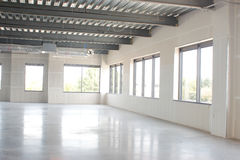 Νέος κενός χώρος γραφείου Στοκ Εικόνα