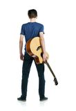 Νέος κιθαρίστας Στοκ Φωτογραφία