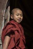 Νέος μοναχός - Nyaungshwe - το Μιανμάρ στοκ εικόνες με δικαίωμα ελεύθερης χρήσης