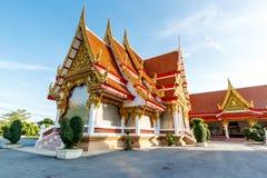 Νέος ναός, Μπανγκόκ Ταϊλάνδη Στοκ Εικόνες