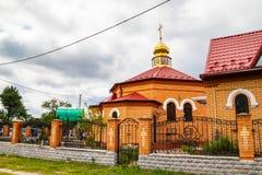 Νέος ναός τούβλου Θεού, που χτίζεται πρόσφατα στοκ φωτογραφίες με δικαίωμα ελεύθερης χρήσης
