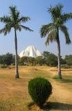 νέος ναός λωτού του Δελχί Στοκ εικόνες με δικαίωμα ελεύθερης χρήσης