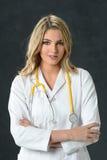 Νέος νοσοκόμα ή γιατρός Στοκ εικόνα με δικαίωμα ελεύθερης χρήσης