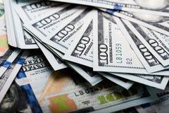 Νέος λογαριασμός 100 δολαρίων Στοκ εικόνα με δικαίωμα ελεύθερης χρήσης