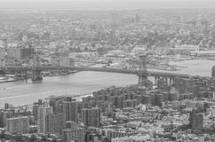 νέος ορίζοντας Υόρκη πόλεων στοκ φωτογραφία