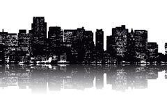 νέος ορίζοντας Υόρκη ελεύθερη απεικόνιση δικαιώματος