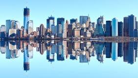 νέος ορίζοντας Υόρκη Στοκ φωτογραφία με δικαίωμα ελεύθερης χρήσης