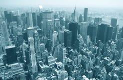 νέος ορίζοντας Υόρκη στοκ εικόνα με δικαίωμα ελεύθερης χρήσης