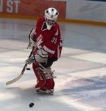 Νέος παίκτης χόκεϋ Στοκ Φωτογραφίες