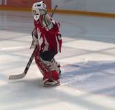 Νέος παίκτης χόκεϋ Στοκ φωτογραφία με δικαίωμα ελεύθερης χρήσης