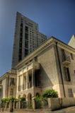 νέος παλαιός σπιτιών οικοδόμησης hdr στοκ εικόνες