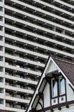 Νέος παλαιός αρχιτεκτονικής Στοκ Εικόνες