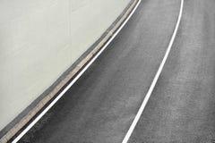 νέος δρόμος ασφάλτου Στοκ Εικόνα