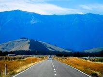 νέος δρόμος Ζηλανδία Στοκ Φωτογραφία