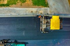 νέος δρόμος κατασκευής Στοκ Φωτογραφίες