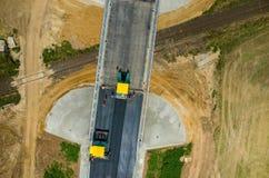 νέος δρόμος κατασκευής Στοκ Εικόνες