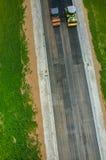 νέος δρόμος κατασκευής Στοκ εικόνες με δικαίωμα ελεύθερης χρήσης