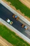 νέος δρόμος κατασκευής Στοκ εικόνα με δικαίωμα ελεύθερης χρήσης