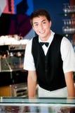Νέος σερβιτόρος Στοκ Φωτογραφία