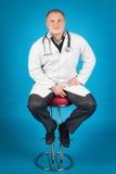 Νέος σπουδαστής της ιατρικής Στοκ εικόνες με δικαίωμα ελεύθερης χρήσης