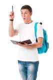 Νέος σπουδαστής Στοκ Εικόνα