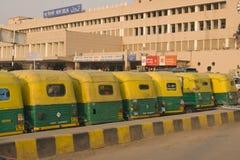 νέος σταθμός του Δελχί Στοκ Φωτογραφία