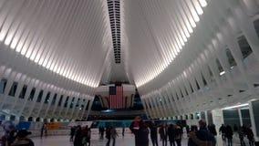 Νέος σταθμός του World Trade Center Στοκ εικόνα με δικαίωμα ελεύθερης χρήσης