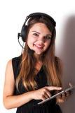 νέος τηλεφωνικός χειριστής υποστήριξης Στοκ Εικόνα