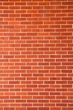 νέος τοίχος τούβλου Στοκ εικόνες με δικαίωμα ελεύθερης χρήσης