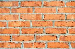 νέος τοίχος τούβλου στοκ εικόνα με δικαίωμα ελεύθερης χρήσης