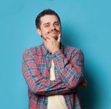 Νέος τύπος στο πουκάμισο Στοκ εικόνα με δικαίωμα ελεύθερης χρήσης
