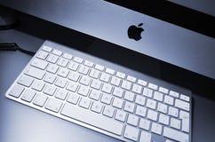 Νέος υπολογιστής της MAC Στοκ Φωτογραφίες