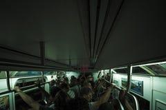 νέος υπόγειος Υόρκη πόλε&om στοκ φωτογραφία