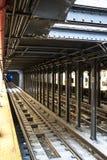 νέος υπόγειος Υόρκη στα&theta Στοκ Εικόνες