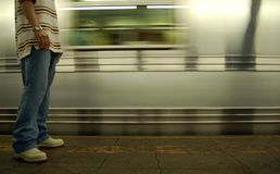 νέος υπόγειος Υόρκη Στοκ φωτογραφίες με δικαίωμα ελεύθερης χρήσης