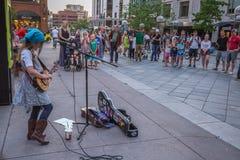 Νέος φορέας ukulele Στοκ Εικόνες