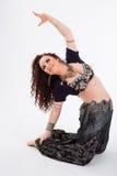 Νέος φυλετικός χορευτής Στοκ φωτογραφία με δικαίωμα ελεύθερης χρήσης