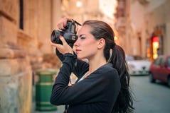 Νέος φωτογράφος Στοκ εικόνες με δικαίωμα ελεύθερης χρήσης
