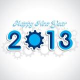 Νέος χαιρετισμός έτους Στοκ Εικόνα