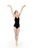 Νέος χορευτής μπαλέτου στο sous-sus στοκ φωτογραφίες με δικαίωμα ελεύθερης χρήσης