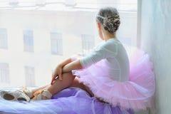 Νέος χορευτής μπαλέτου Στοκ Εικόνες