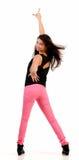Νέος χορευτής χιπ χοπ brunette Στοκ φωτογραφία με δικαίωμα ελεύθερης χρήσης
