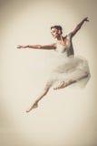 Νέος χορευτής ballerina στο tutu Στοκ Φωτογραφία