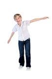 Νέος χορός αγοριών Στοκ Εικόνες