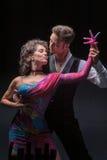 Νέος χορός ζευγών Στοκ Εικόνες
