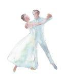 Νέος χορός ζεύγους Στοκ φωτογραφία με δικαίωμα ελεύθερης χρήσης