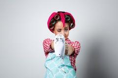Νέος όμορφος αναμίκτης εκμετάλλευσης κοριτσιών Στοκ εικόνα με δικαίωμα ελεύθερης χρήσης